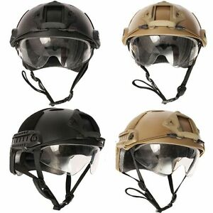 Tactical Airsoft Paintball Military Field SWAT Protective Fast Helmet