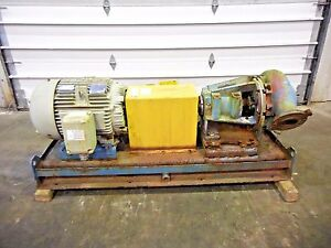 Rx 3637 Metso Mm150 Lhc d 6 X 4 Slurry Pump W 50hp Motor And Frame