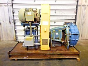 Rx 3595 Metso Mm300 Lhc d 12 X 10 Slurry Pump W 75hp Motor And Frame