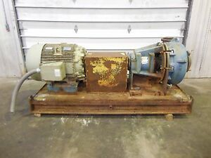 Rx 3631 Metso Hm200 Fhc d 8 X 6 Slurry Pump W 100hp Motor And Frame