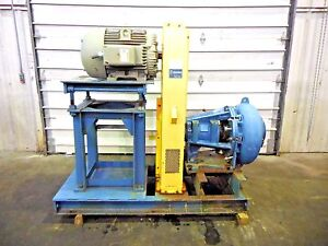 Rx 3612 Metso Mm200 Lhc d 8 X 6 Slurry Pump W 75hp Motor And Frame