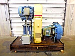 Rx 3597 Metso Mm250 Fhc d C5 10 X 8 Slurry Pump W 40hp Motor And Frame