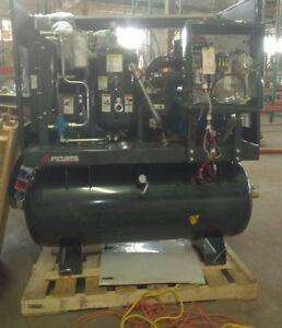 Fs curtis 25 hp Tankless Rotary Screw Air Compressor 460v 3 phase