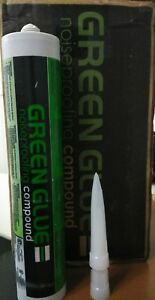 Lot Of 12 Tubes Green Glue Soundproofing Compound 28 Oz Sound Damping New