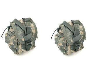 2 ACU 1 Quart Canteen Pouch Military Army MOLLE General Purpose GP Pouches USGI $11.99