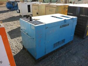 Airman Pds90s Skid Mounted Air Compressor stock 2456