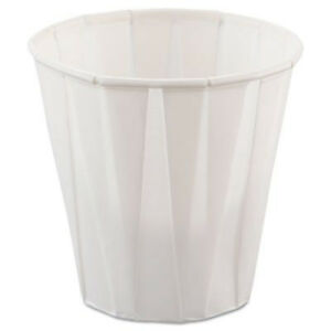 Cup Solo Scc450 Paper Medical Dental Treated Cups 3 5oz White 100 bag 50 Bags