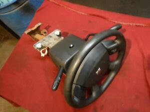04 05 Dodge Ram Truck Automatic Steering Column W Key Wheel 1500 2500 3500 4wd