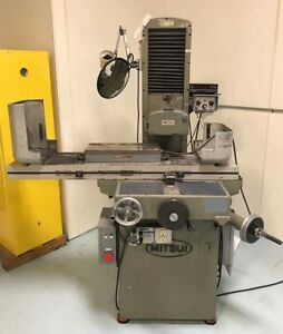 Mitsui Msg 250mh Precision Hand Feed Surface Grinder