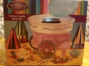 brand New Cotton Candy Machine And Includes Party Kit Box Never Opened