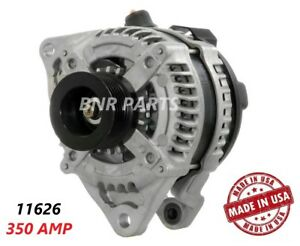 350 Amp 11626 Alternator Ford Mustang 5 0l High Output Performance Hd Large Body