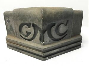 1938 Gmc Truck Grill Crown Used Very Nice