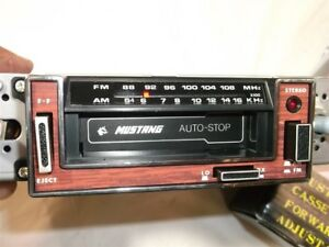 Vintage 70 s 80 s Am fm Radio Cassette In Dash New Chevrolet Gm Ford Mopar