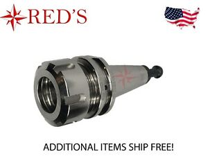 Reds Iso30 er32 50 Precision Collet Tool Holder G2 5 30k Cnc Router Nickel Plate