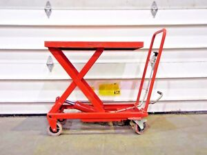 Rx 4182 Northern Industrial Hydraulic Table Cart 700 Lb Cap