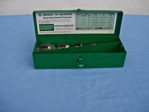 Greenlee 744 Slug Splitter Knockout Punch Set Unused