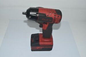 Snap On 18 V 3 8 Dr Monsterlithium Impact Wrench Tool Ct8810a Ctb8185 Battery