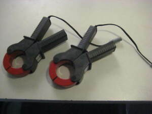 Fluke Reliable Power Meters Model 1001 1000a Amp Clamps