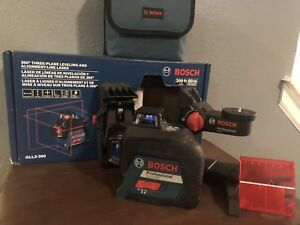 Bosch Gll3 300 360 Degree Three plane Leveling And Alignment Laser