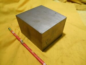 P20 Mold Steel Bar Stock Tool Die Shop Flat Machine 2 1 2 X 3 1 2 X 4 1 4