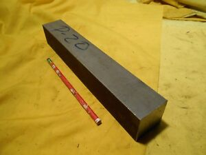 P20 Mold Steel Bar Stock Tool Die Shop Flat Machine 1 5 8 X 1 5 8 X 12