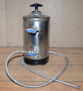 Used Commercial Espresso Machine Water Softener Filter Untested Coffee Shop Part