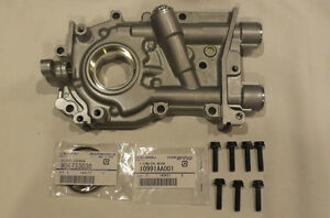 Genuine Jdm Subaru 12mm Oil Pump W Seals Bolts Wrx Sti Legacy Gt Forester Xt