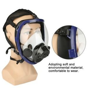 Supplied Air Fed Respirator System Paint Spraying Welding Full Face Gas Mask Gbt
