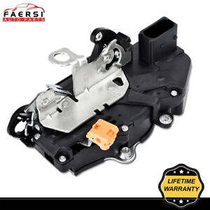 Power Door Latch Lock Actuator Assembly Front Lh Left For Chevy Gmc Cadillac