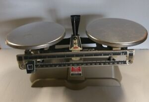 Vintage Ohaus Harvard Trip Balance Scale W 5lb Capacity