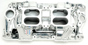 75254 Edelbrock Performer Rpm Dual quad Air gap For Small block Chevy