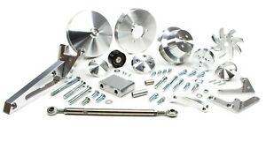 March Performance 20580 Bbc Outward Mount Serpentine Pulley Kit