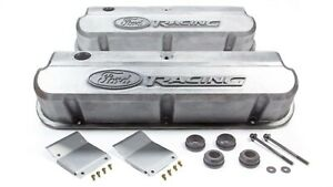 Proform 302 146 Fits Ford Racing Valve Covers Slant Edge Powdercoat