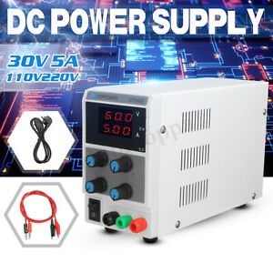 30v 5a Adjustable Dc Power Supply Variable Digital Regulated Lab Test Equipment