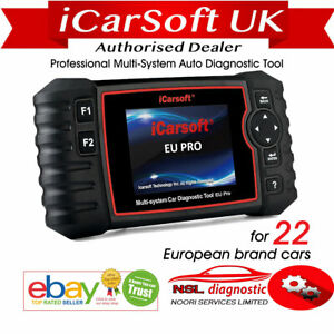 Icarsoft Eu Pro 22 European Vehicles Scan Tool For Benz Bmw Landrover Volvo Etc