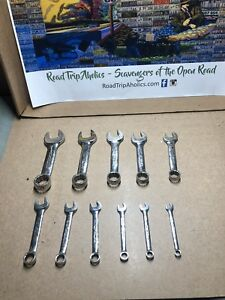 Snap On Stubby Standard Wrench Set
