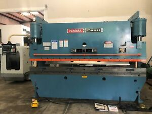 Niagara hbm 135 10 12 12 X 135 Ton Hydraulic Press Brake Cnc Hurco gmt 1744
