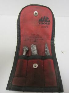 Mac Tools Cb3nfs 3 piece Non ferrous Carbide Burr Set Usa Used