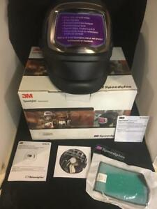 3m Speedglas 06 0600 20sw 9100 Fx Welding Helmet With Side Windows And 9100x Adf