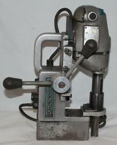 Jancy Slugger Magnetic Drill Press Used Working