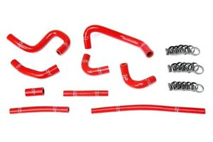 Hps Red Silicone Heater Hose Kit Coolant Oem Replacement 57 1798 Red
