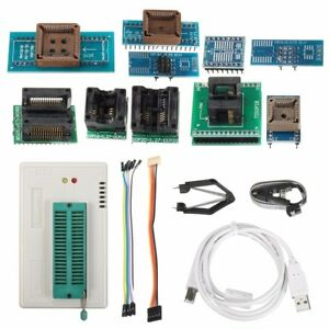 Tl866ii Plus Programmer Usb Eprom Eeprom Flash Bios Programmer With Clip New