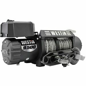 Westin 47 2103 Off Road Series 12v 9500lbs Synthetic Rope Winch