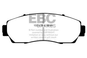 Ud1089 Ebc 07 09 Fits Acura Rdx 2 3 Turbo Ultimax2 Front Brake Pads
