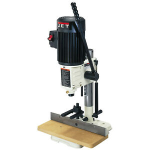 Jet 708580 Benchtop Woodworking Hollow Chisel Mortiser Drill Mortising Machine