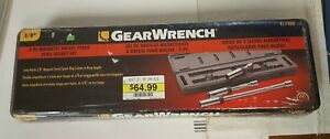 New Sealed Gear Wrench 3 8 3 Piece Magnetic Swivel Spark Plug Socket Set 41740d