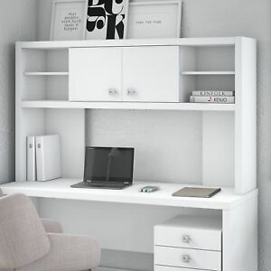 Office By Kathy Ireland Echo 60w Hutch In Pure White