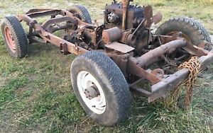 Lets Roll Vintage Willys Jeep Engine Frame Axles Bam Hot Rat Rod