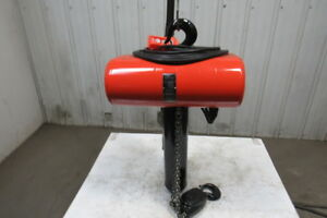 Cm Lodestar Rr 2 Ton 2hp Electric Chain Hoist 208 230 460v 3ph 20 3 Lift 16fpm