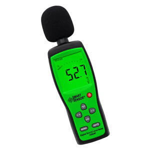 Digital Sound Level Meter Noise Measuring Decibel Monitor Tester 30 130db